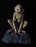 BNPS.co.uk (01202 558833)<br /> AdamPartridge/BNPS<br /> <br /> A figure of Gollum from Lord of the Rings.<br /> <br /> A vast collection of 'weird and wonderful' memorabilia from a music venue that hosted early Beatles gigs has emerged for sale for close to £50,000.<br /> <br /> Lathom Hall in Liverpool was one of the best known clubs on the Merseybeat music scene in the late 1950s and early 1960s.<br /> <br /> Among their regular bands were the Beatles, although at that time they were known as the Silver Beets.<br /> <br /> Since those days the hall has adapted and is now an entertainment venue crammed full of pop culture memorabilia.