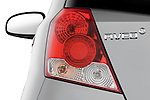 Tail light close up detail view of a 2008 Chevrolet Aveo 5 LS