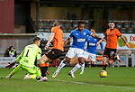 13.12.2020 Dundee Utd v Rangers: Alfredo Morelos fails to convert a decent chance in front of goal