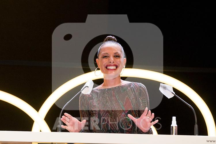 Actress Virginia Munoz during Malaga Film Festival Gala at Teatro Cervantes.August 24 2020. (Alterphotos/Francis González)