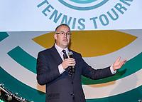 Rotterdam, Netherlands, 09 Februari, 2018, City Hall, Official Draw,    Major Abutaleb<br /> Photo: Tennisimages/Henk Koster