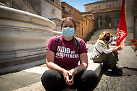 29.05.21 - Antifascist Rally At Rome City Hall - Presidio Antifascista in Piazza del Campidoglio