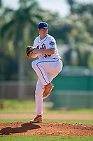 Logan Bogue (36) during the WWBA World Championship at Terry Park on October 8, 2020 in Fort Myers, Florida.  Logan Bogue, a resident of Mt. Airy, Georgia who attends Habersham Central High School, is committed to Georgia Tech.  (Mike Janes/Four Seam Images)