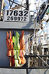 fishing gear, Port of Port Townsend, Commercial Basin, fishing boats, Puget Sound, Jefferson County, Washington State, Pacific Northwest, salmon fishing boats,