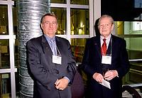 FILE -  Le Maire Pierre Bourque et Clifford  Lincoln lors du congres et salon Americana 2001<br /> <br /> PHOTO : Agence Quebec Presse