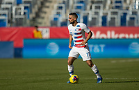CARSON, CA - FEBRUARY 1: Sebastian Lletget #17 of the United States looking for an open teammate during a game between Costa Rica and USMNT at Dignity Health Sports Park on February 1, 2020 in Carson, California.