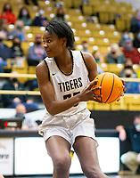 Maryam Dauda  (30) of Bentonville looks for open player against Springdale Har-ber at Tiger Arena, Bentonville, AR January 5, 2021 / Special to NWA Democrat-Gazette/ David Beach