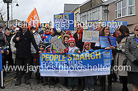 150103 Peoples March for the NHS Tredegar