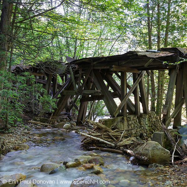 This photo represents August in the 2019 White Mountains New Hampshire calendar. Trestle No. 16 crosses Black Brook along the old East Branch & Lincoln Railroad (1893-1948) in the Pemigewasset Wilderness of Lincoln, New Hampshire. You can purchase a copy of the calendar here: http://bit.ly/2GPQ9q3