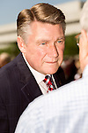 April 25, 2016. Raleigh, North Carolina. <br />  Dr. Mark Harris, a pastor at 1st Baptist Church in Charlotte and a congressional candidate, spoke to the crowd.<br />   Supports of House Bill 2 (HB2) held a rally that brought thousands to the Halifax Mall to show their support for the bill that has proved to be highly divisive in the state. Stating that the bill, which stated that transgender people must use the bathroom of the sex stated on their birth certificate, was a safety issue, as well as a religious moral one, a series of state politicians and religious leaders tooth stage to express their support for embattles NC governor Pat McCrory.