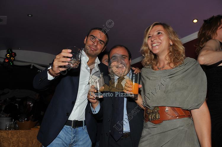 CICCIO BONGARRA' <br /> PARTY DI PAOLO PAZZAGLIA<br /> PALAZZO FERRAJOLI ROMA 2010