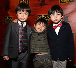 """Samuel Li Weintraub Jace Chen and Gregory Ye attends The Opening Night After Party for the New Broadway Production of """"Miss Saigon"""" at Tavern on the Green on March 23, 2017 in New York City"""