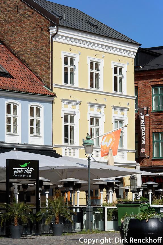 Auf dem Lilla Torg in Malmo, Provinz Skåne (Schonen), Schweden, Europa<br />  on Lilla Torg in Malmo, Sweden
