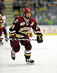 10 January 2009: Boston College Eagles' forward Benn Ferriero, a Senior from Essex, MA, in action during the second game of a weekend series against the University of Vermont Catamounts at Gutterson Fieldhouse in Burlington, Vermont. The Catamounts rallied from an early 2-0 deficit to defeat the visiting Eagles 4-2. Mandatory Photo Credit: Ed Wolfstein Photo