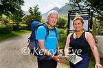 Mountain Adventure Walks Maurice and Madeline Breathnach who climbed Carrauntoohil with Ryan Turbidy  last week