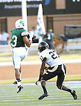 DENTON, TX - AUGUST 31: North Texas Mean Green wide receiver Brelan Chancellor (3) of the North Texas Mean Green Football vs Idaho Vandals at Apogee Stadium in Denton on August 31, 2013 in Denton, Texas. Photo by Rick Yeatts