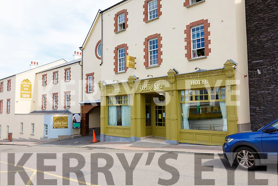 The Skellig Star hotel in Cahersiveen now a Direct Provision Centre.