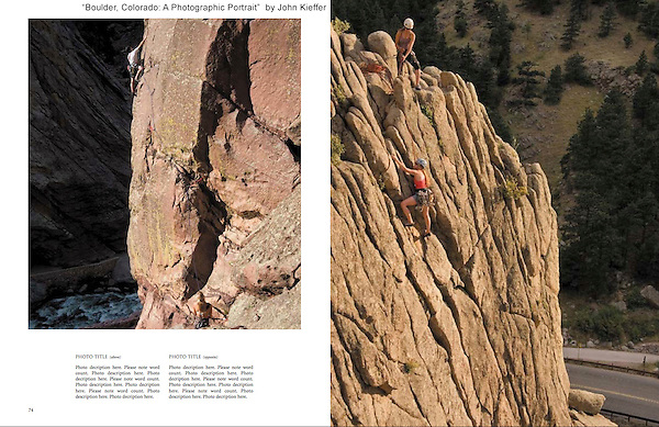 Adventure sports photo workshops by John.<br />