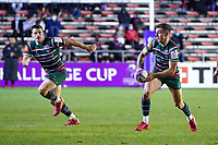 26th September 2020; Toulon, France; European Challenge Cup Rugby, semi-final; RC Toulon versus Leicester Tigers;  Georges Ford (Leicester) open field run