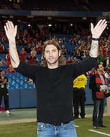 09 March 2013: Toronto FC midfielder Torsten Frings, since retired, is honoured during an MLS game between Sporting Kansas City and Toronto FC at The Rogers Centre in Toronto, Ontario Canada.