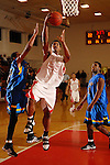 Antuan Bootle goes in for an easy lay up at St. Thomas High School Friday  Feb. 2,2007.(Dave Rossman/For the Chronicl01