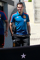 Spain's Cesar Azpilicueta after training session. May 31,2018.(ALTERPHOTOS/Acero) /NortePhoto.com
