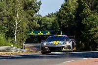#64 Corvette Racing Chevrolet Corvette C8.R LMGTE Pro, Tommy Milner, Nicholas Tandy, Alexander Sims, 24 Hours of Le Mans , Test Day, Circuit des 24 Heures, Le Mans, Pays da Loire, France