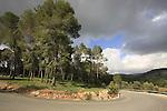 Israel, Jerusalem Mountains, route 395 Eshtaol-Ein Karem