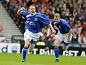 12/04/2008    Copyright Pic: James Stewart.File Name : sct_jspa05_qots_v_aberdeen.PAUL BURNS CELEBRATES AFTER HE SCORES QUEEN OF THE SOUTH'S SECOND....James Stewart Photo Agency 19 Carronlea Drive, Falkirk. FK2 8DN      Vat Reg No. 607 6932 25.Studio      : +44 (0)1324 611191 .Mobile      : +44 (0)7721 416997.E-mail  :  jim@jspa.co.uk.If you require further information then contact Jim Stewart on any of the numbers above........