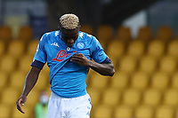 Victor Osimhen of SSC Napoli dejection<br /> during the Serie A football match between Benevento Calcio and SSC Napoli at stadio Ciro Vigorito in Benevento (Italy), October 25th, 2020. <br /> Photo Cesare Purini / Insidefoto