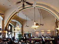 Jugendstil Cafè Amércan Leidesplein 97, Amsterdam, Provinz Nordholland, Niederlande<br /> art nouveau Cafè Amércan Leidesplein 97, Amsterdam, Province North Holland, Netherlands