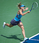 Maria Sharapova (RUS) defeats Madison Keys (USA) 6-1, 3-6, 6-3 at the Western & Southern Open in Mason, OH on August 12, 2014.