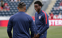 Chester, PA - Monday May 28, 2018: Matthew Olosunde during an international friendly match between the men's national teams of the United States (USA) and Bolivia (BOL) at Talen Energy Stadium.