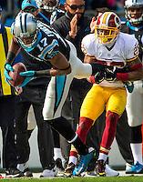 Carolina Panthers vs. Washing Redskins during their NFL game Sunday afternoon November 23, 2015  at Bank of America Stadium in Charlotte, North Carolina.<br /> <br /> Charlotte Photographer: PatrickSchneiderPhoto.com