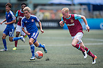West Ham United vs Eastern during the Main tournament of the HKFC Citi Soccer Sevens on 22 May 2016 in the Hong Kong Footbal Club, Hong Kong, China. Photo by Lim Weixiang / Power Sport Images