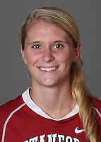 STANFORD, CA - OCTOBER 29:  Anna Boeri of the Stanford Cardinal women's lacrosse team poses for a headshot on October 29, 2009 in Stanford, California.