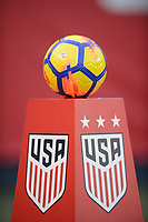 San Diego, Ca - Sunday, January 21, 2018: Nike Ball during a USWNT 5-1 victory over Denmark at SDCCU Stadium.