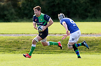Saturday 10th October 2020 | Ballynahinch vs Queens<br /> <br /> Callum during the Energia Community Series clash between Ballynahinch and Queens at Ballymacarn Park, Ballynahinch, County Down, Northern Ireland. Photo by John Dickson / Dicksondigital