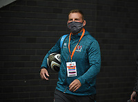Saturday 5th September 2020 | PRO14 Semi-Final<br /> <br /> Ulster Rugby team manager arrives for the Guinness PRO14 Semi-Final between Edinburgh and Ulster at the BT Murrayfield Stadium Edinburgh, Scotland. Photo by David Gibson / Dicksondigital
