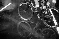 wet start<br /> <br /> 2013 Tour of Britain<br /> stage 5: Machynlleth to Caerphilly (177km)