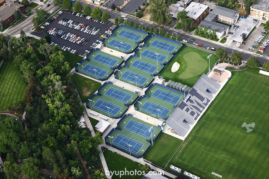 1309-22 4191<br /> <br /> 1309-22 BYU Campus Aerials<br /> <br /> Brigham Young University Campus, Provo, <br /> <br /> Tennis Courts, Outdoor TCF, BYU Tennis<br /> <br /> September 6, 2013<br /> <br /> Photo by Jaren Wilkey/BYU<br /> <br /> © BYU PHOTO 2013<br /> All Rights Reserved<br /> photo@byu.edu  (801)422-7322