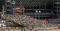 Apr 9, 2006; Las Vegas, NV, USA; An overview of The Strip at Las Vegas Motor Speedway in Las Vegas, NV during the NHRA Summitracing.com Nationals. Mandatory Credit: Mark J. Rebilas