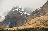 Ailsa Mountains, Fiordland National Park, UNESCO World Heritage Area, Southland, New Zealand, NZ