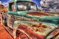 Turquoise International Truck in Utah