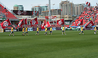 05 May 2012: The opening ceremonies during an MLS game between DC United and Toronto FC at BMO Field in Toronto..D.C. United won 2-0.