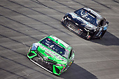 #18: Kyle Busch, Joe Gibbs Racing, Toyota Camry Interstate Batteries, #78: B.J. McLeod, B.J. McLeod Motorsports, Chevrolet Camaro