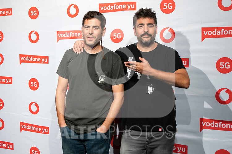 Estopa during the photocall of VODAFONE YU MUSIC SHOWS<br /> ESTOPA  in Concert. <br /> October 2, 2019. (ALTERPHOTOS/David Jar)