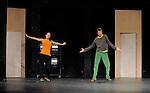 RIEN QUE CETTE AMPOULE DANS L OBSCURITE DU THEATRE....Choregraphie : APPAIX Georges..Lumiere : LONGO Xavier..Costumes : PALDACCI Michele BEZANDRY Tristan..Avec :..APPAIX Georges..BAUVAIS Severine..BOUTEAU François..BOUREL Jean Paul..CORNU Wendy..MACHER Sabine..VIANDIER Gill....Lieu : Theatre National de Chaillot..Ville : Paris..Le : 04 02 2009..© Laurent Paillier / www.photosdedanse.com..All rights reserved