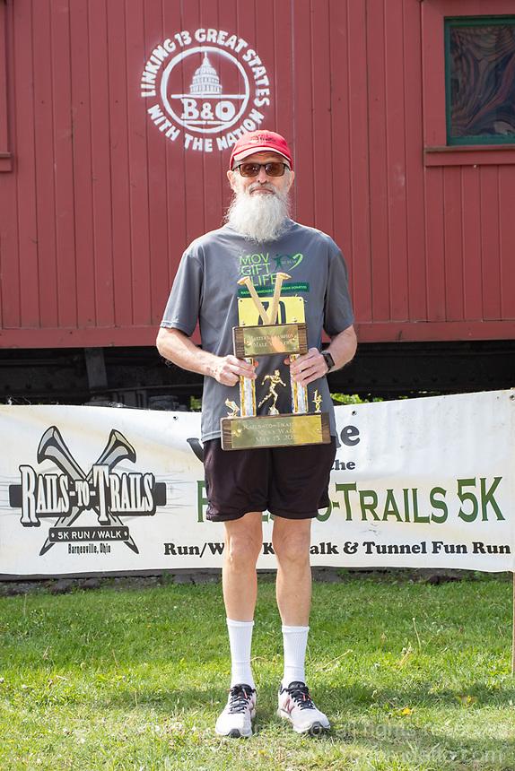 The 2021 Barnesville Rails to Trails 5K walk/run & Tunnel Kids Fun Run, Barnesville, Ohio May 15, 2021.