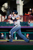Richmond Flying Squirrels Zach Houchins (39) at bat during an Eastern League game against the Erie SeaWolves on August 28, 2019 at UPMC Park in Erie, Pennsylvania.  Richmond defeated Erie 6-4 in the first game of a doubleheader.  (Mike Janes/Four Seam Images)